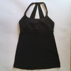 Lululemon Athletica Black Tank Top Size 4